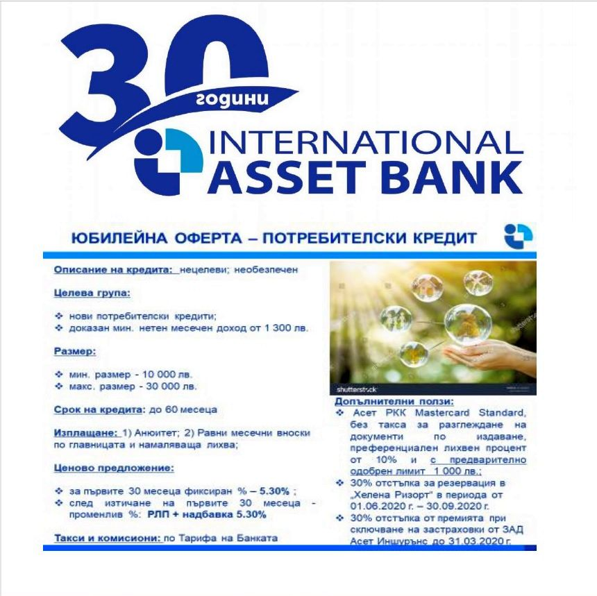 INTERNATIONAL ASSET BANK